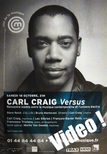 Carl craig versus cité de la musique