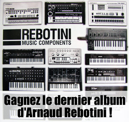concours arnaud rebotini