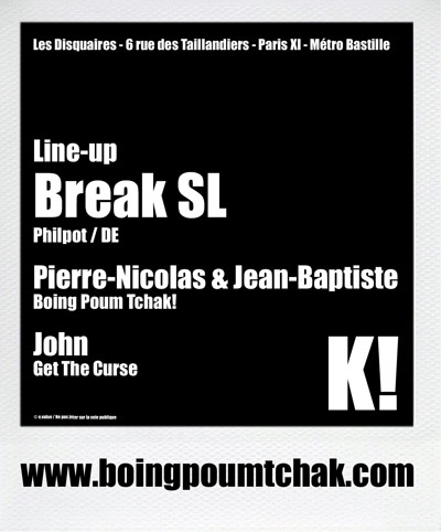 party poum tchak! - break sl